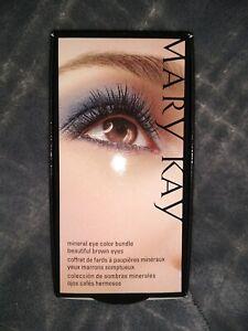 Mary Kay Mineral Eye Color Brown Bundle (043861) 3 Eye Shades NIB [KC]