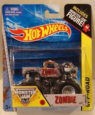 ZOMBIE Hot Wheels 2014 Monster Jam w/Figure First Edition