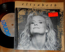 "ELISABETH ANDREASSON THAT'S WHERE THE TROUBLE LIES/NOBODY THERE BUT ME 7"" SINGLE"