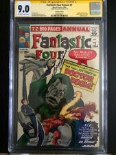 Fantastic Four Ann 2  CGC 9.0  SS Sinnott  1st Origin Dr. Doom  Canadian Variant