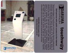 SCHEDA TEST CARD PHONE TELEFONKARTE DARUMA