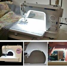 LED Sewing Light Strip w/ Touch Dimmer US Plug Power Supply for Sewing Machine