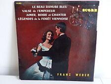 FRANZ WEBER Le beau Danube bleu SCORE 14002