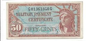 MPC Series 591  50  Cents  EF