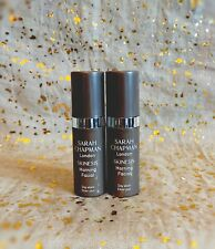 2x~SARAH CHAPMAN London Skinesis Morning Facial~Day Elixer~5ml/0.17oz each~NWOB~
