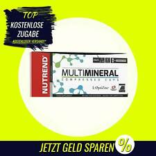 Nutrend - Multimineral Compressed Caps - 60 Kapseln - Mineralstoffe, Vitamine B0