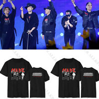 KPOP Bigbang G-Dragon T-shirt Made Concert Tshirt Unisex Tee Short Sleeve Cotton