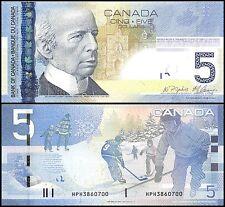 Canada 5 Dollars, 2006, P-101A, UNC