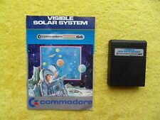 VISIBLE SOLAR SYSTEM - commodore 64 - cartridge
