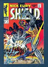 Marvel Comics Nick Fury Agent of SHIELD #2 1968 VF+ 8.5 Steranko Art LI-01