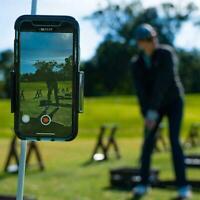 Golfschwung Recorder Halter Telefon Clip Halterung Praxis Trainer Zubehör N2J3