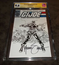 GI Joe #224 Convention Sketch Edition CGC 9.6 SS Signed Mike Zeck IDW Publishing