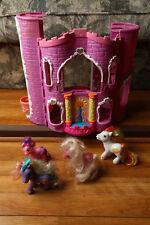 My Little Pony Celebration Castle w/ Figures 2002 Lights Sound Hasbro