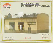 HO INTERSTATE FREIGHT TERMINAL  KIT FOR TRAIN LAYOUTS #411  BY MODEL POWER