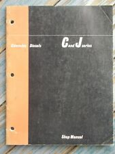 1965 Cummins Diesels C and J series Shop Manual 14-sections