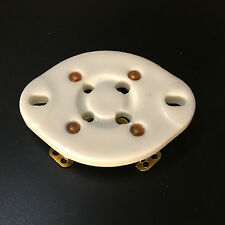 1PC 4Pin Ceramic Vacuum Tube Sock Gold Plated for 300B 300B-T 572B 811A U4A