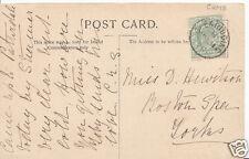 Genealogy Postcard - Family History - Hewitson - Boston Spa - Yorkshire   BH4785