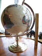 330mm Gem Stone Globe (With Gold Plated Stand)..NEW