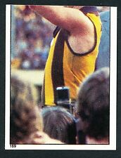 Scanlens 1984 Sticker No. 169 Leigh Matthews Hawthorn Premiership Cup Hawks