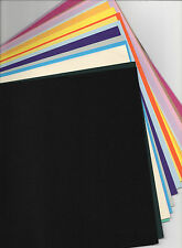 20 X A4 SHEETS OF COLOURED CARD FOR CARD MAKING (random) from 160gsm  to 250gsm