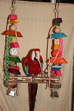 Parrot Swing (For X-large Parrots) Colorful X-Large #JK011 Toy