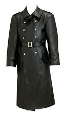 WW2 UFFICIALE TEDESCO Cappotto in pelle-Made to your Taglie