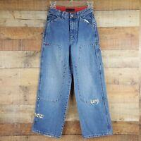 Phat Farm Jeans Boys Size 12 Denim Loose  Z3
