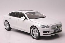 Volvo S90 car model in scale 1:18 white