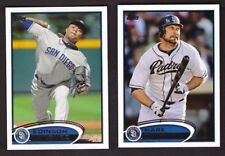 2012 Topps  SAN DIEGO PADRES Team Set w/ Updates 29 Cards Mint