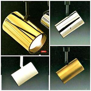 TROY Track Light System CUSTOM DIY Bronze Chrome White Black Brass NEW FLAT BACK
