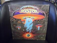 Boston Self Titled VG+ LP 1976 Epic Hard Rock Includes More Than A Feeling
