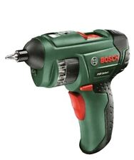 Bosch PSR Select Cordless Lithium-Ion Screwdriver with 3.6 V Battery 1.5 Ah