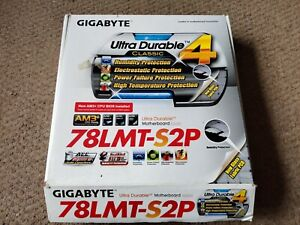 Gigabyte ga-78lmt-s2p motherboard with AMD FX 3.1ghz, AMD cpu cooler & WiFi card