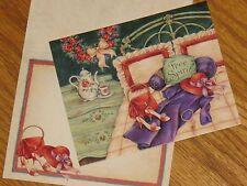 Free Spirit Karen Ware Erickson Art Red Hat Society Lang Graphics Note Cards 6ct
