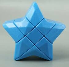 New Blue Star Magic Cube Dot Design Rubiks Speed Cubing Twist High Challenge Toy