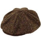 Berretto irlandese 8 spicchi Connery Malone tweed Cap
