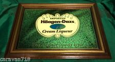 Imported Haagen Dazs Cream Liqueur Bar Mirror Man Cave Brand New