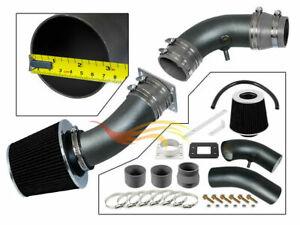 RW GREY Ram Air Intake Kit + Filter For 95-97 Ranger B2300 Pickup 2.3L L4