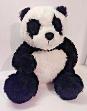 """Kohls nancy tilman plush panda teddy bear 11"""" sitting 2015"""