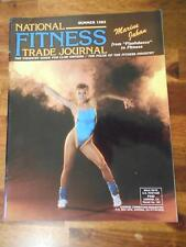 NATIONAL FITNESS TRADE JOURNAL equipment bodybuilding catalog MARINE JAHAN 1985