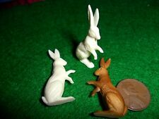 Vintage Plastic Standing Rabbits- Western Germany