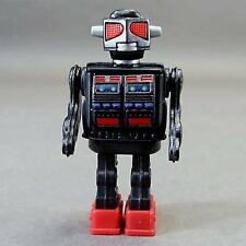 New Tin Age Collection Tin Toy Robot Super Giant Robot BLK Die-cast Japan