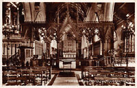 R269631 216533 J. V. Interior. St. Wulframs Church. Grantham. 6. Valentines. RP