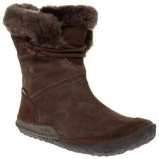 Mid-Calf Suede Lace Up Boots for Women