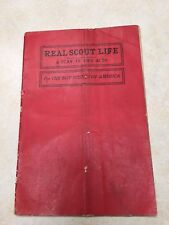 "1912 ""Real Scout Life"" A Play for The Boy Scouts of America"