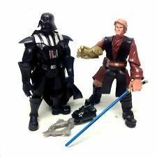 """STAR WARS DARTH VADER & ANAKIN  6"""" Chunky figure toy figure for Younger Kids"""