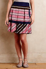 NWT Anthropologie Ellery Stripe Skirt, by Maeve - size 6 P