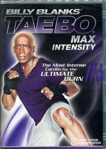 Billy BlanksTae Bo Max Intensity DVD NEW Region 4