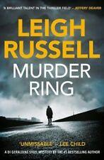 Leigh Russell ___ Murder Bague ___ Tout Nouveau ___ Livraison Gratuite Ru
