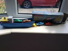 "Matchbox Car Ferry Complete With Four "" Matchbox"" Superfast Models"